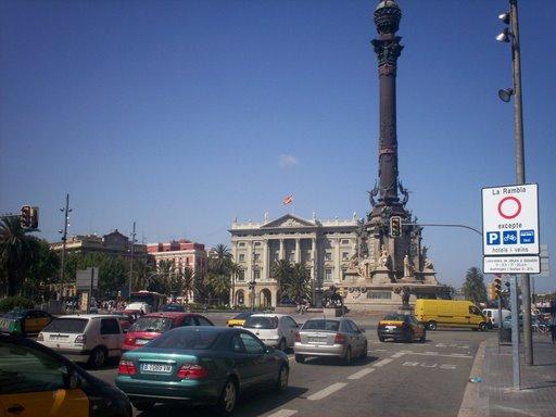 Mirador de Colom barcelona