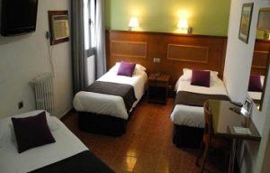 room in Hotel Lloret Ramblas Barcelona